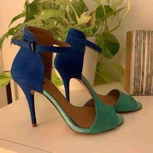 Zara Basic Color Block Sandal